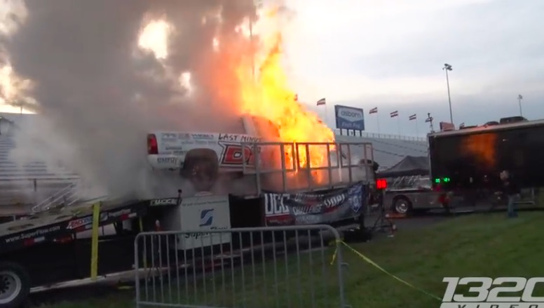 Dyno Catastrophe: Watch This Diesel Truck Explode And Burn At The Ultimate Callout Challenge