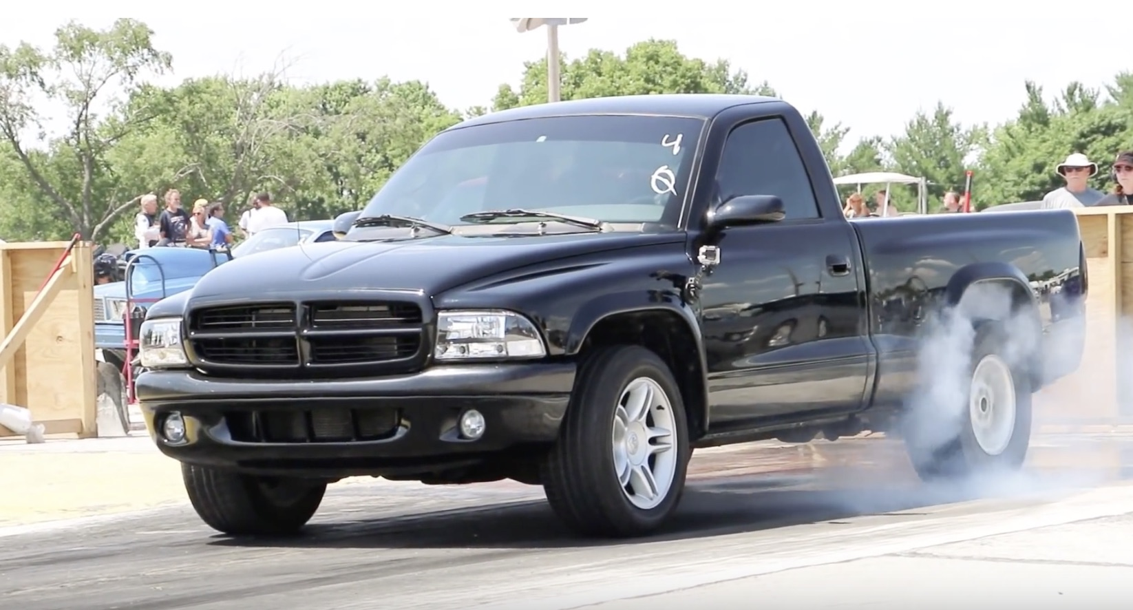 Morning Symphony: A Dodge Dakota R/T With A Severe Attitude Problem!