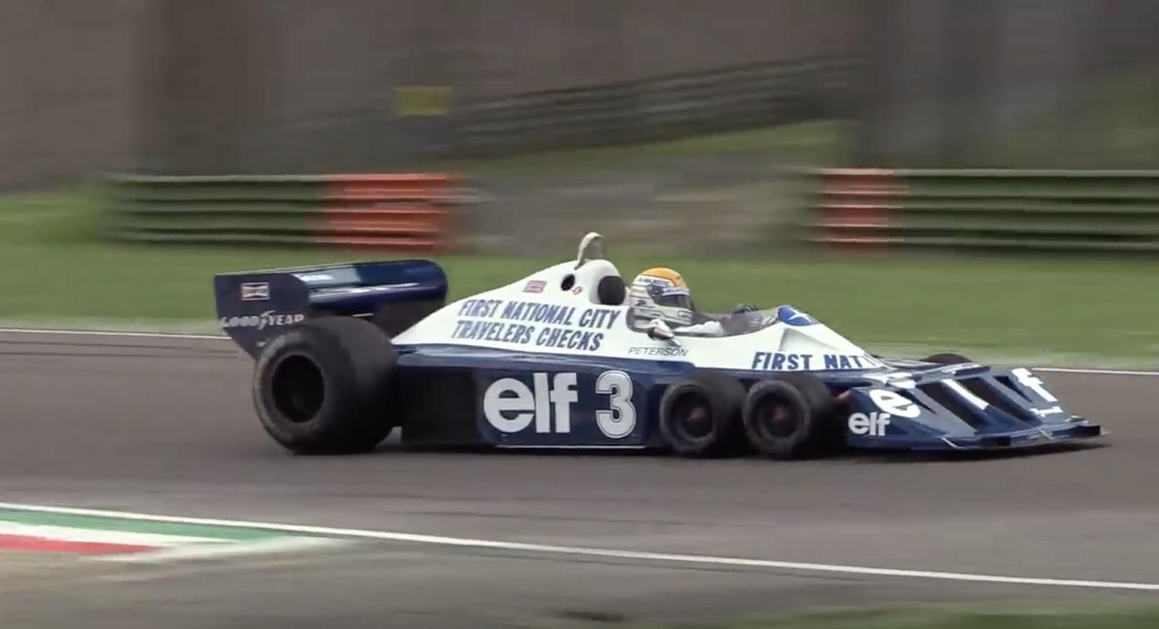 Morning Symphony: 1977 Tyrrell P34 – The Six-Wheeled Wonder At Imola