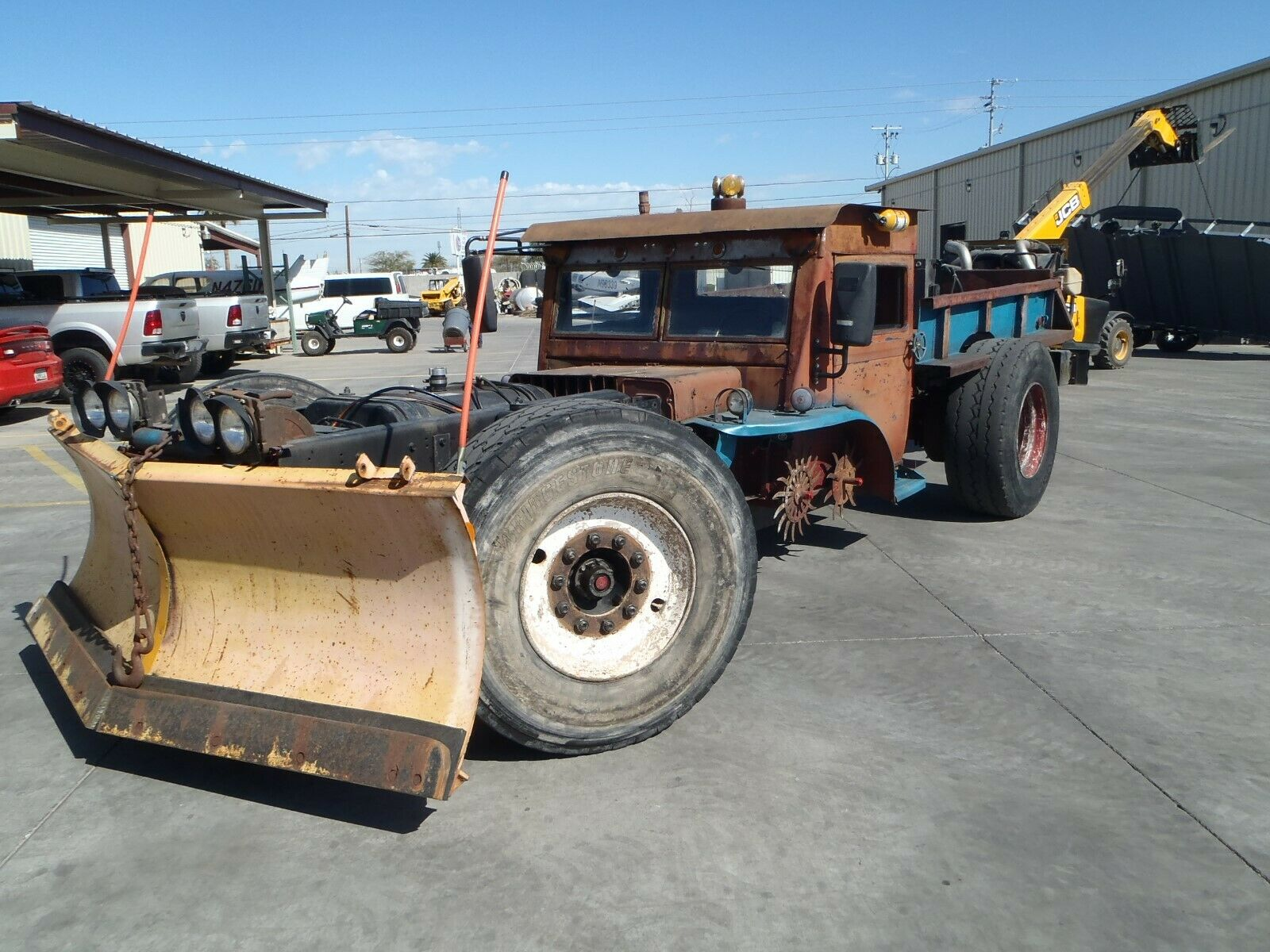 Absolute Freakshow: The Wildest Thing On eBay Right Now Is A Rear Engine, Pusher, Burma Jeep Rat Rod