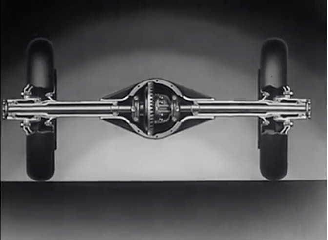 Video: Ever Wondered How A Full Floating Rear Axle Worked? This 1936 Chevy Film Explains It Wonderfully!