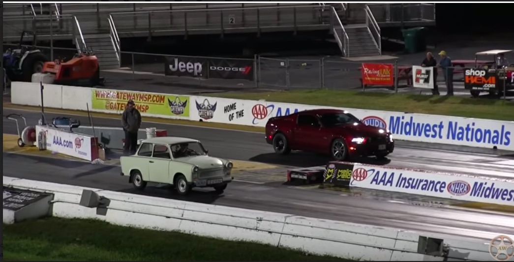 Video: Watching A Trabant Drag Race Is A Type Of Funny No Words Exist For