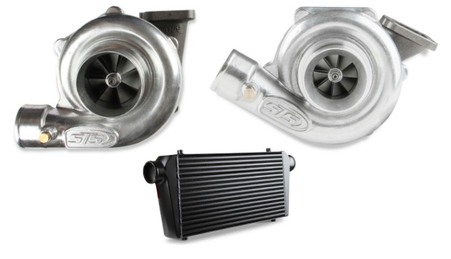New Products: STS Ball Bearing Turbos, Journal Bearing Turbos, and Frostbite Intercoolers