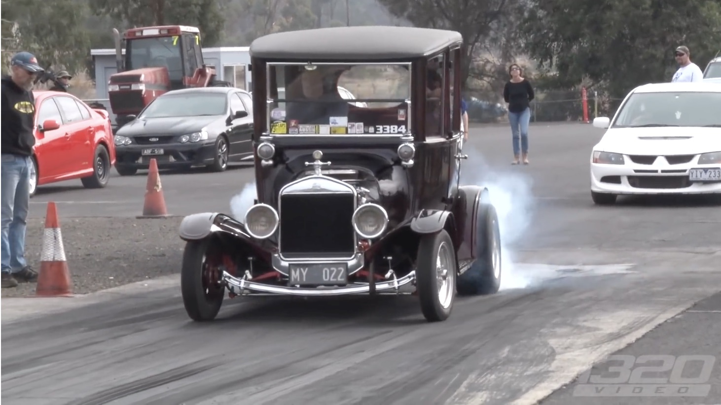 Thrown Back In Time: 1320Video Meets One Violent 1922 Ford Model T!