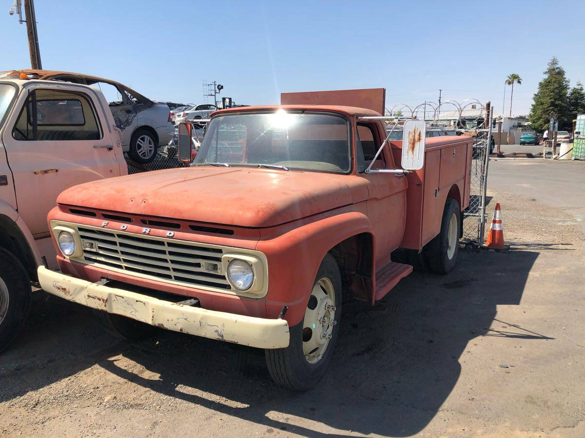 This 1964 F600 Is Your Heavy Duty Truck With Attitude And Style. Check This Thing Out!
