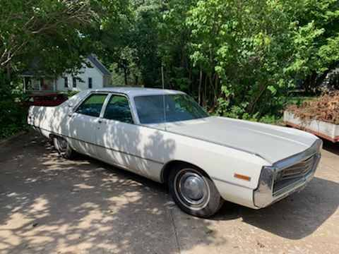 This 1971 Chrysler Newport Is A Giant Family Sedan From Days Gone By