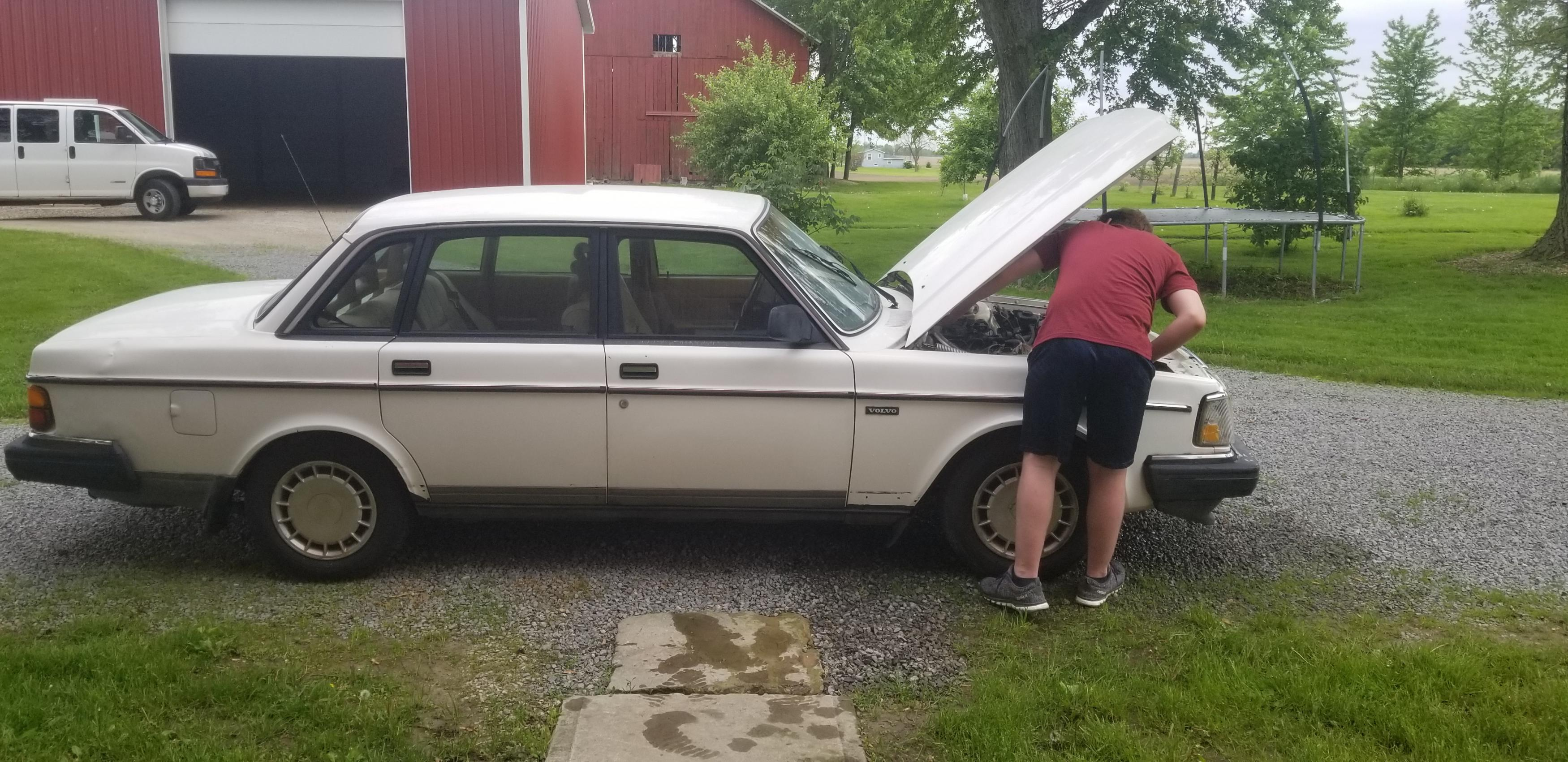 BangShift Project Files: Make It Quick, Make It Safe…Follow Along As This 1990 Volvo Gets V8 Swapped!