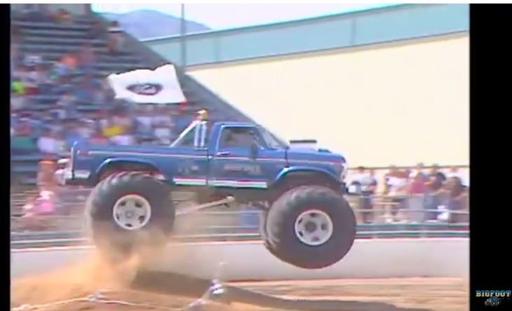 Watch Bigfoot 1 Get Driven Harder Than We Have Ever Seen – Think The Front End Fails?