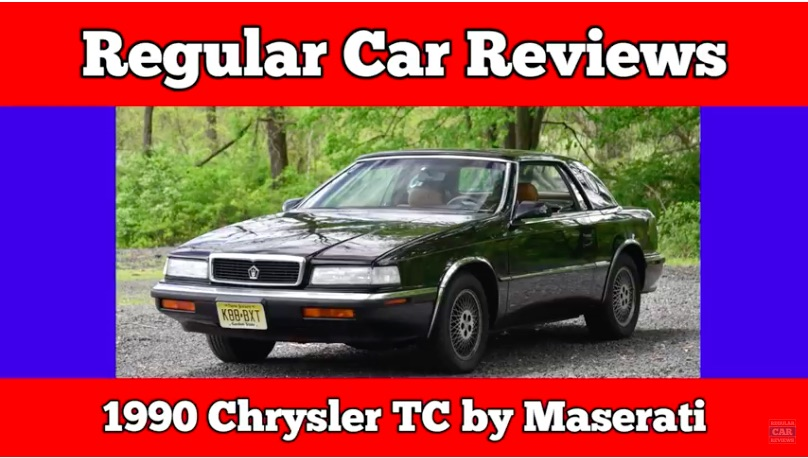 Regular Car Reviews: This Look Back At The 1990 Chrysler TC by Maserati Is Awesome