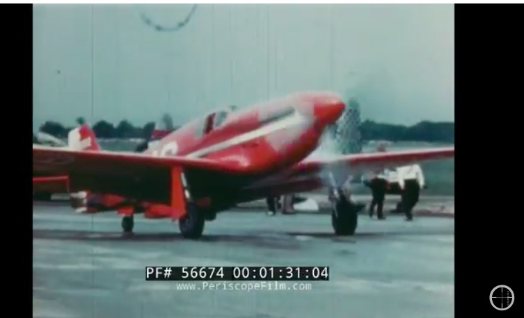 This Film From The 1947 National Air Races Is Astonishing – People, Airplanes, Wrecks, More
