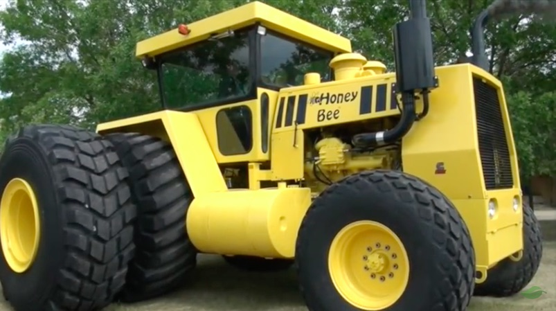 Cool Video: The Story Of The Honey Bee, A Homebuilt 500hp Monster Of A Tractor
