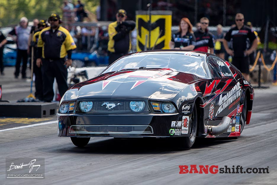 More NHRA E3 Pro Mod Action From Thunder Valley: Action Photos of 250mph Door Slammers!