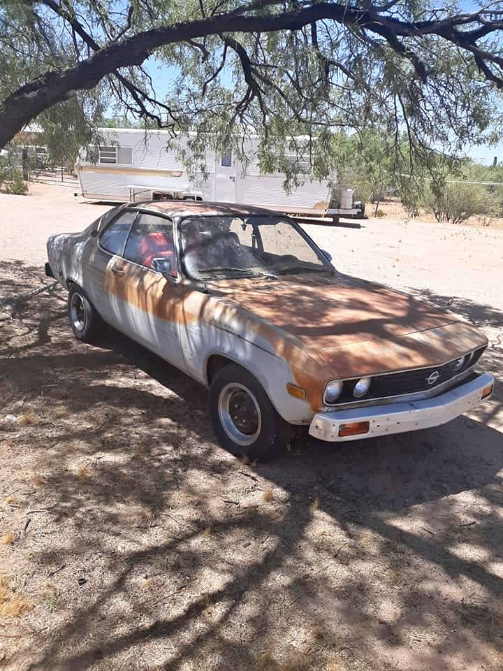 Different Flavors: An Opel Manta A And Some Project Dreaming
