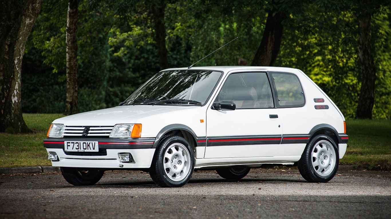 The Peugeot 205 GTI: When France Turned A Tiny Little Car Into An Attack Chihuahua