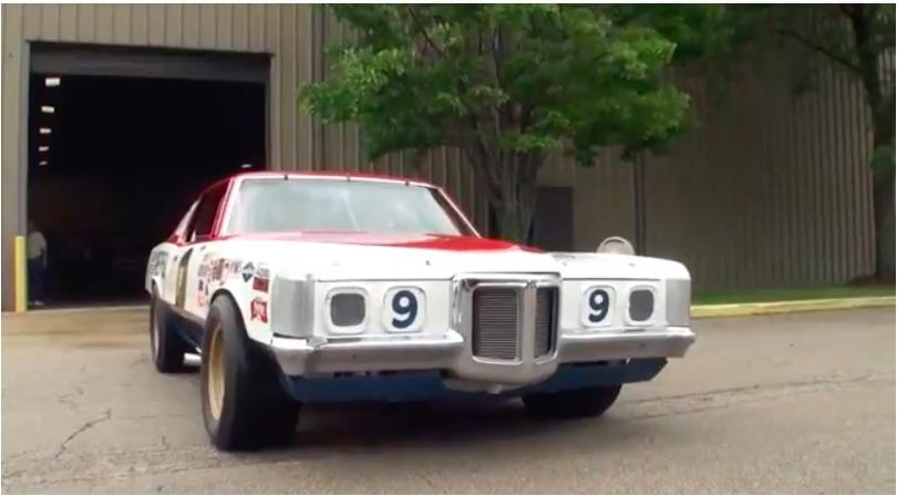 Awesome: Check Out This Ram Air V Powered 1969 Pontiac Grand Prix Former NASCAR Racer