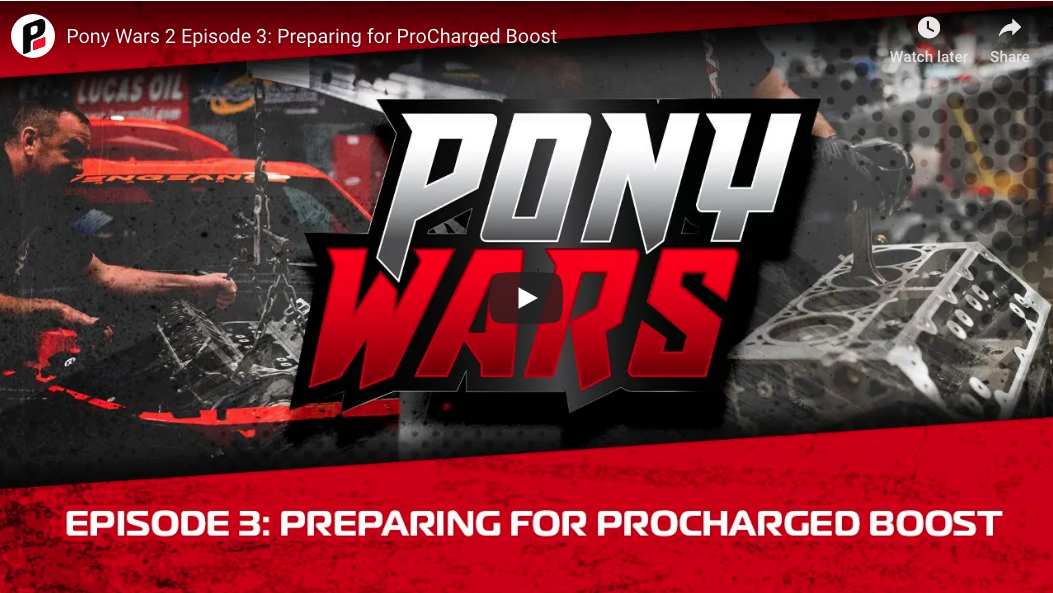Pony Wars Episode 3 Is Out! Watch The Mustang, The Camaro, And The Challenger Get Real Power Thanks To ProChargers