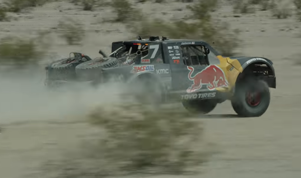 Bryce Menzies Is No Stranger To Awesome Desert Race Performances, But This Video From His BAJA 500 This Year Is Great