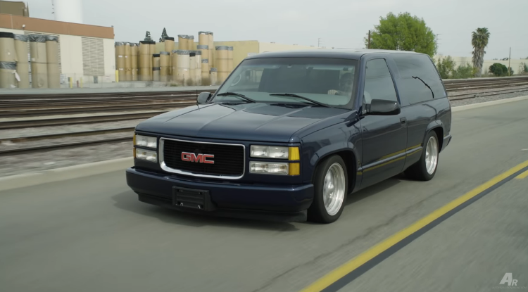 This Old School Two Door Tahoe Is A Bad Ass Ride No Matter What You Call It.
