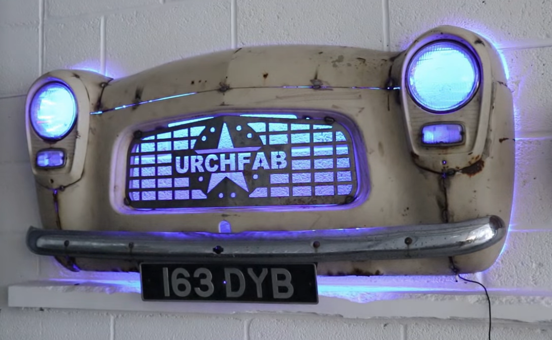 This Is Our Kind Of Car Art. Watch UrchFab Put Together Something Cool For The Shop