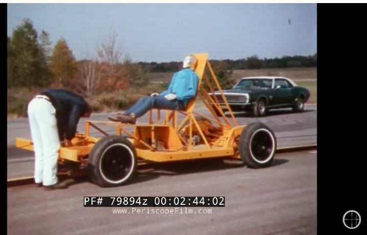 Freaky Good: This 1960s GM Safety Film Called Unrestrained Flying Objects Is All About Seatbelt Safety