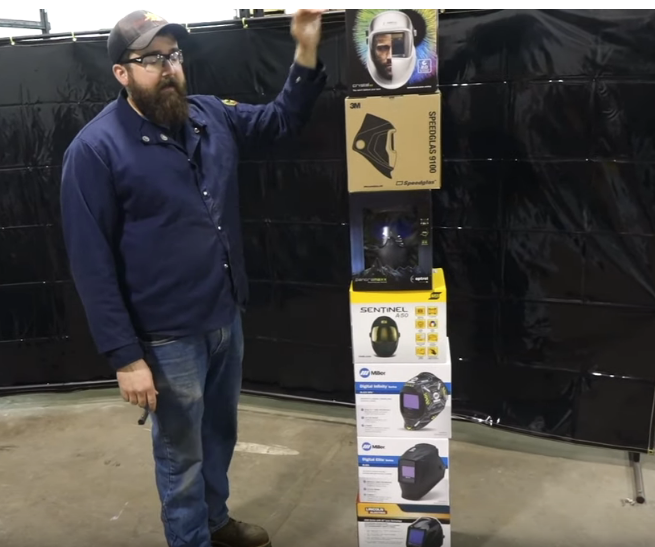 In The Market For A Welding Helmet? Check Out This Video On A Lineup You Just Can't Beat.