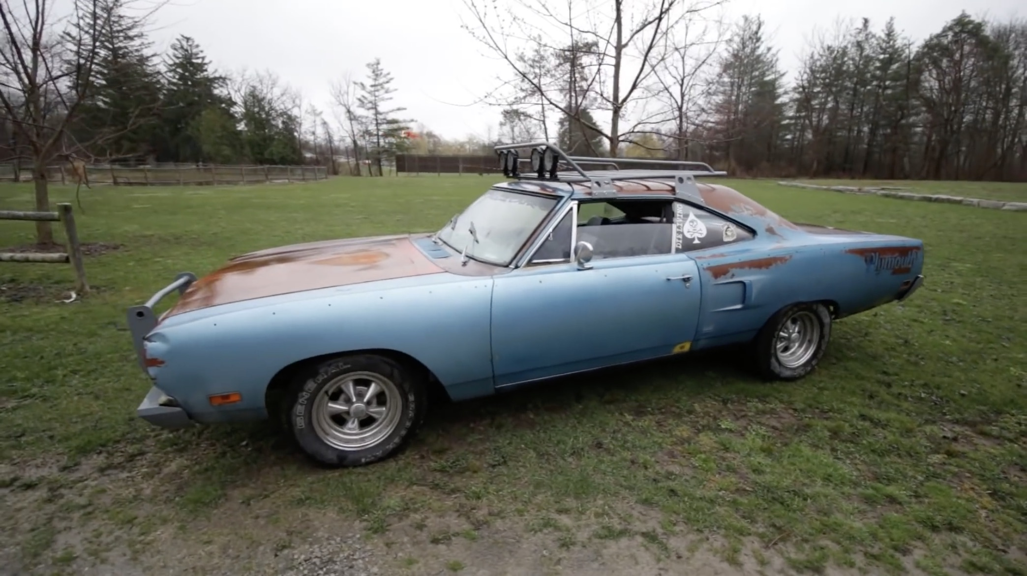 The Rusty Rattler: Check Out This Isuzu Diesel-Swapped 1970 Plymouth Satellite!