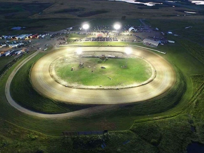 Devil's Lake Speedway In North Dakota Is For Sale – Beautiful Place, Cool Track, Neat Tractors!