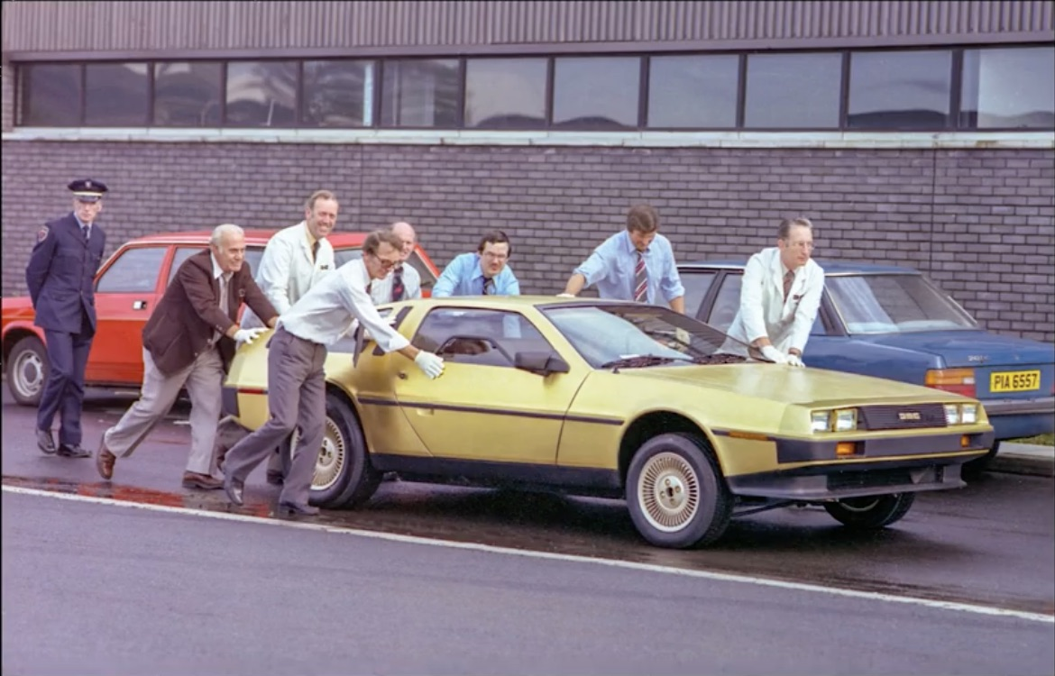 24K Magic: Yes, That's A Gold-Plated DeLorean DMC-12 And It's Not The Only One!