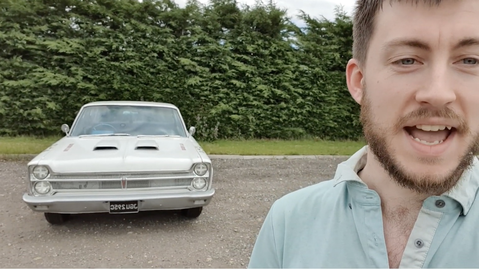A Different View: This British Gaming YouTuber Bought Himself An Old Plymouth!