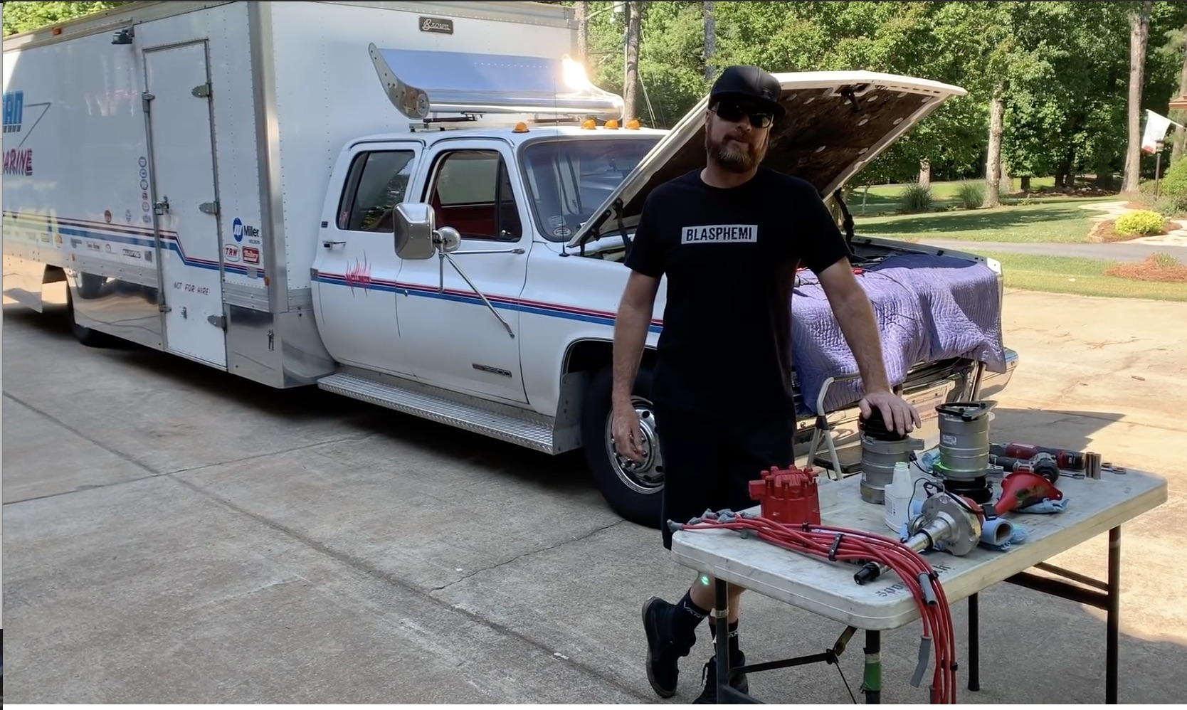 """Fuel Mileage Is That Important: Can Finnegan's """"Square Force 1"""" Ramp Truck Do Better?"""