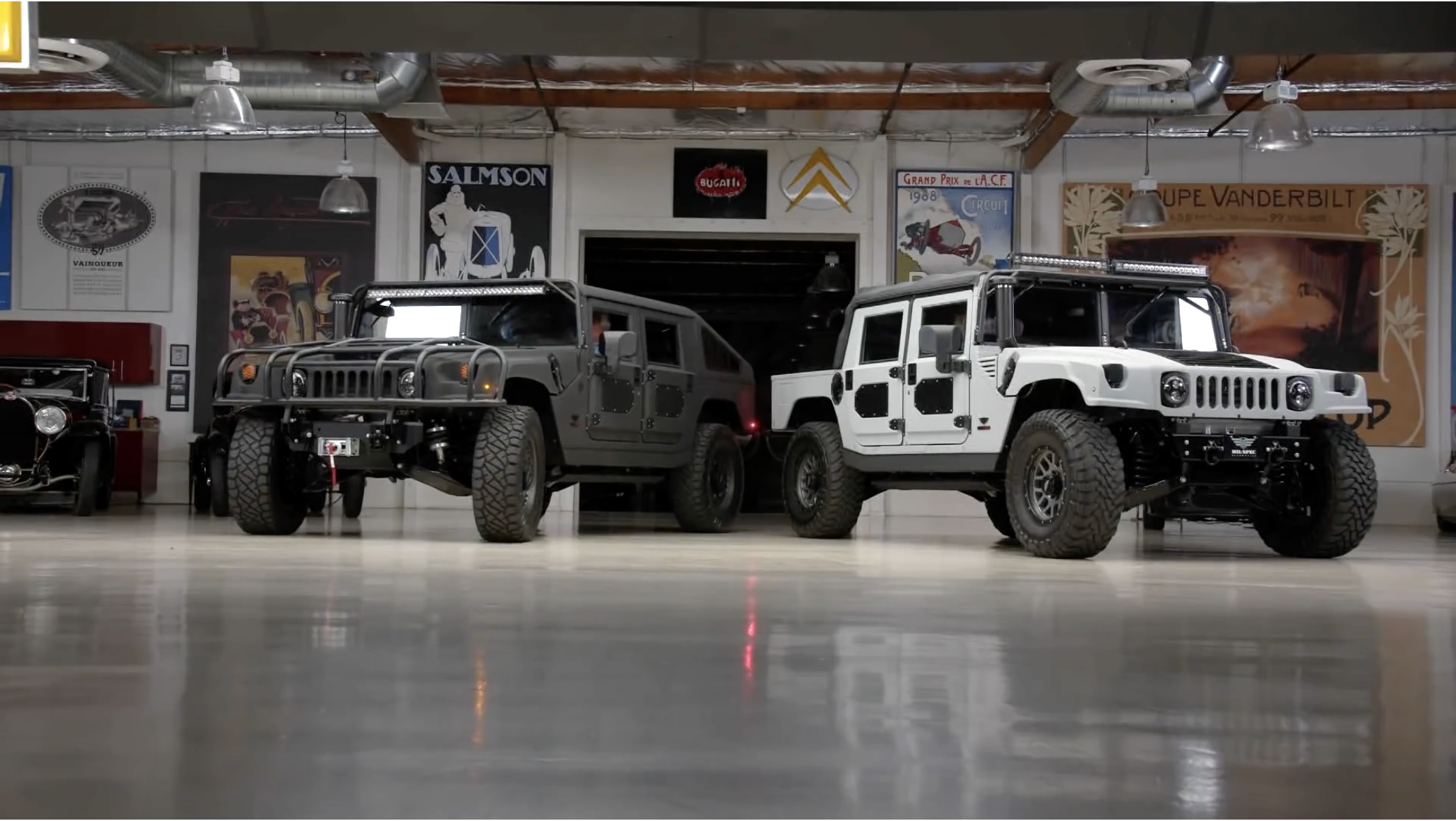More Like It: Jay Leno Checks Out Two Mil-Spec Modified HMMWVs!