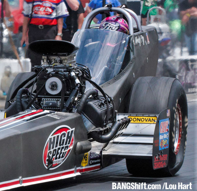 Jeff Arend & Mendy Fry Qualify #1 –  Both Nitro Racers Victorious At NHRA Holley Hot Rod Reunion!