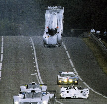 Nerd Facts: Here's Why Mercedes Flipped Head Over Heels At LeMans In 1999!