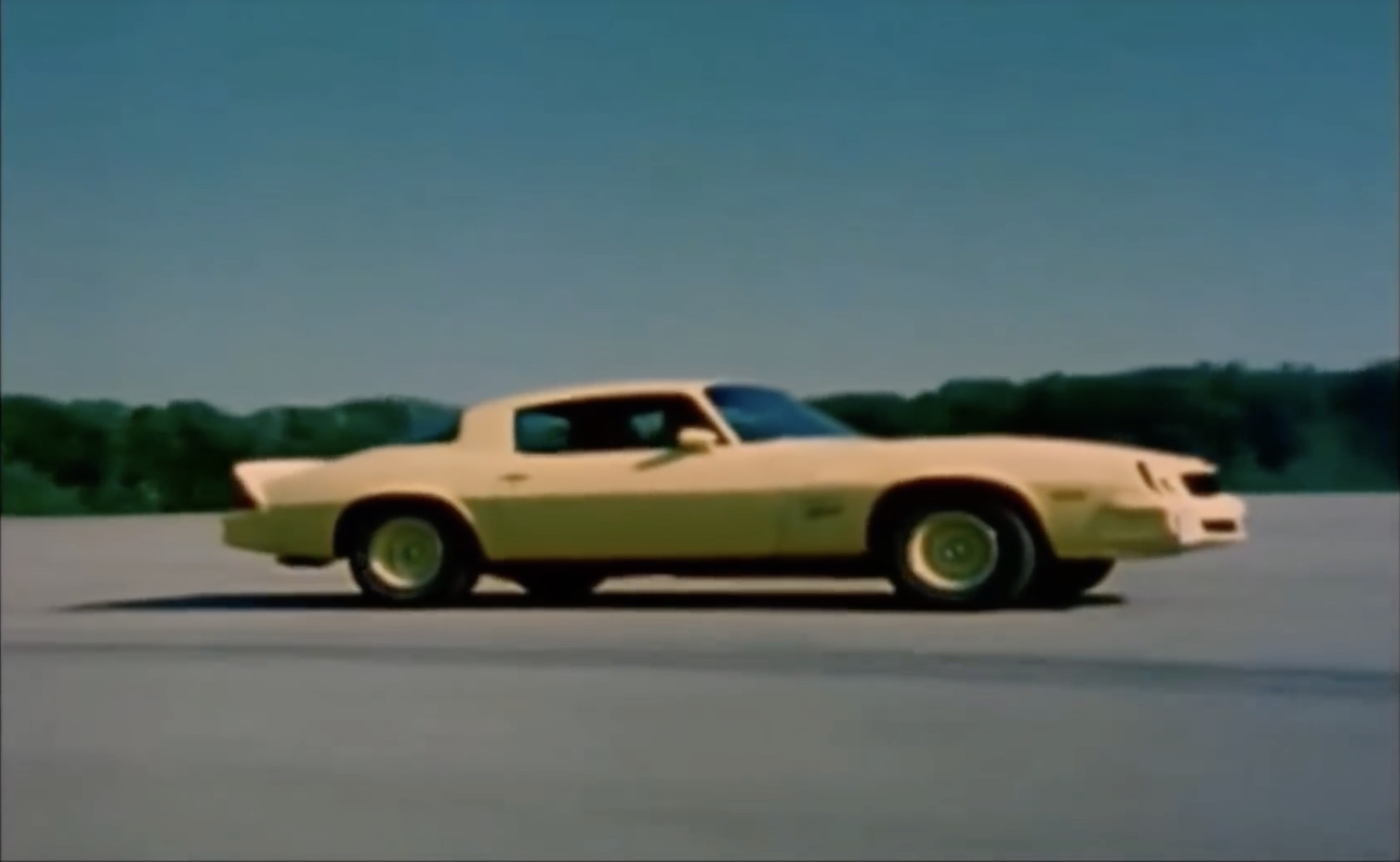Classic YouTube: A Walk Through The History Of Camaro Advertisements