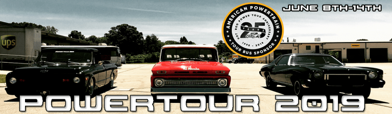 American Powertrain Is Headed Out On The Power Tour With Gifts, Giveaways, And Killer Shirts!