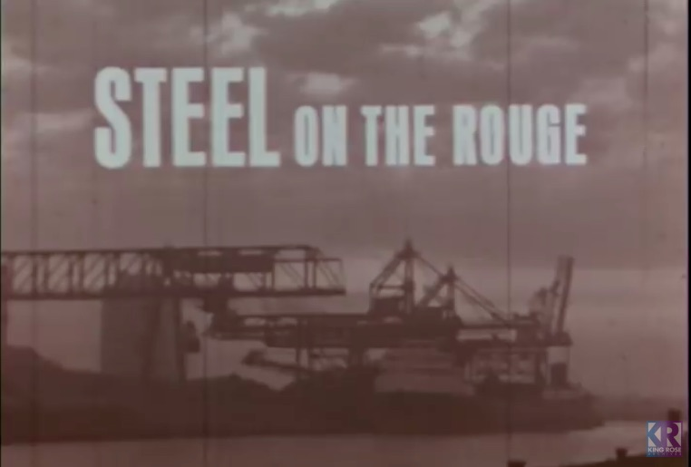 Steel On The Rouge: This Incredible Look At The Steel Making Operation At Ford's River Rouge Plant Is Worth The Watch