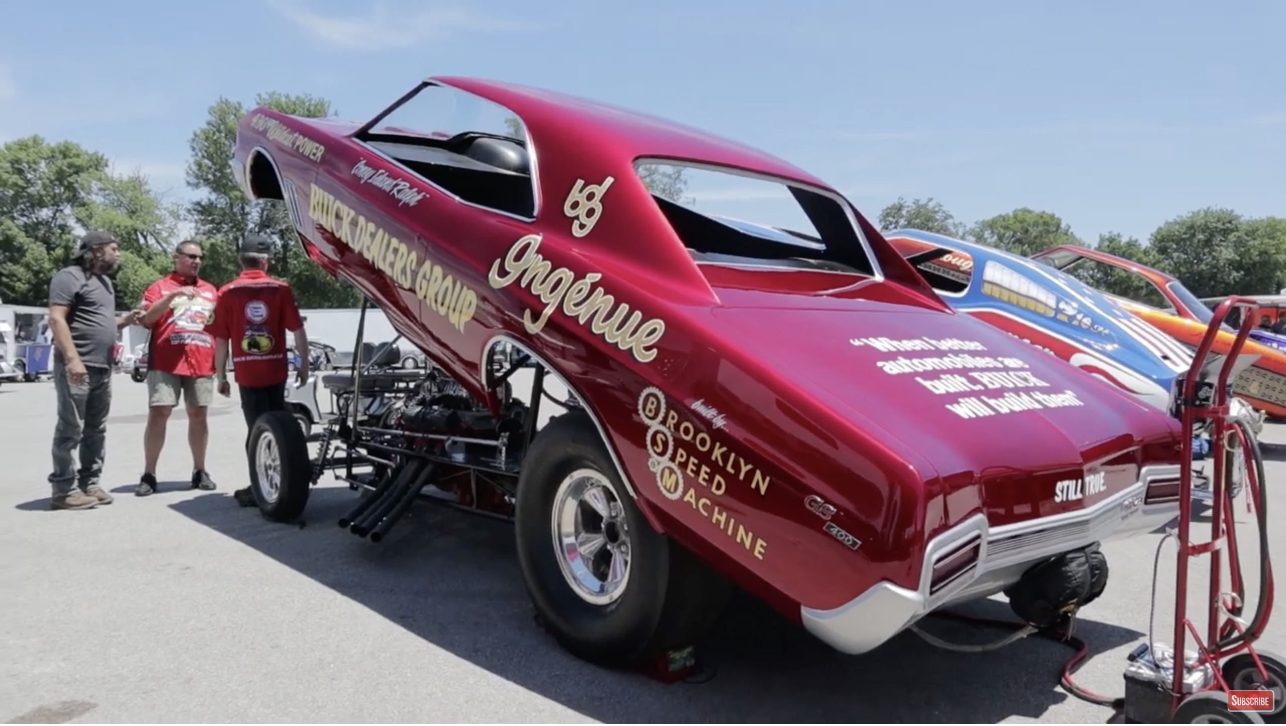 Call It Ingénue: Get A Walk-Around Of The Buick-Powered Buick GS Funny Car!