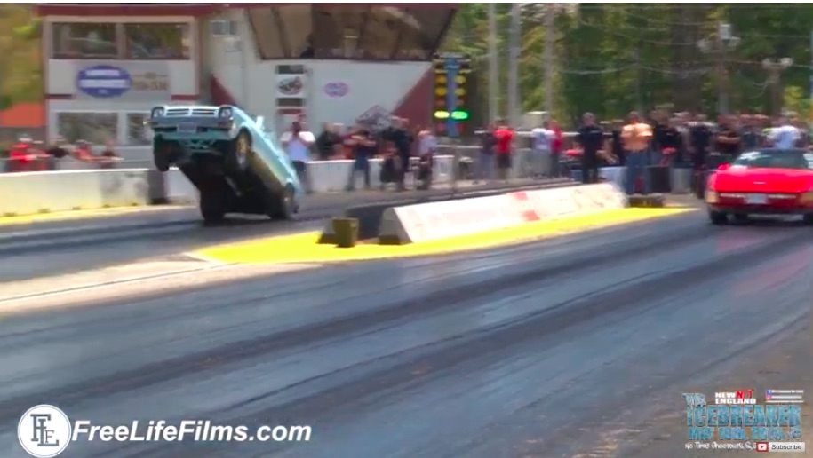Chevette From Hell: Watch This Wild, Wheelstanding Little Monster Attack New England Dragway