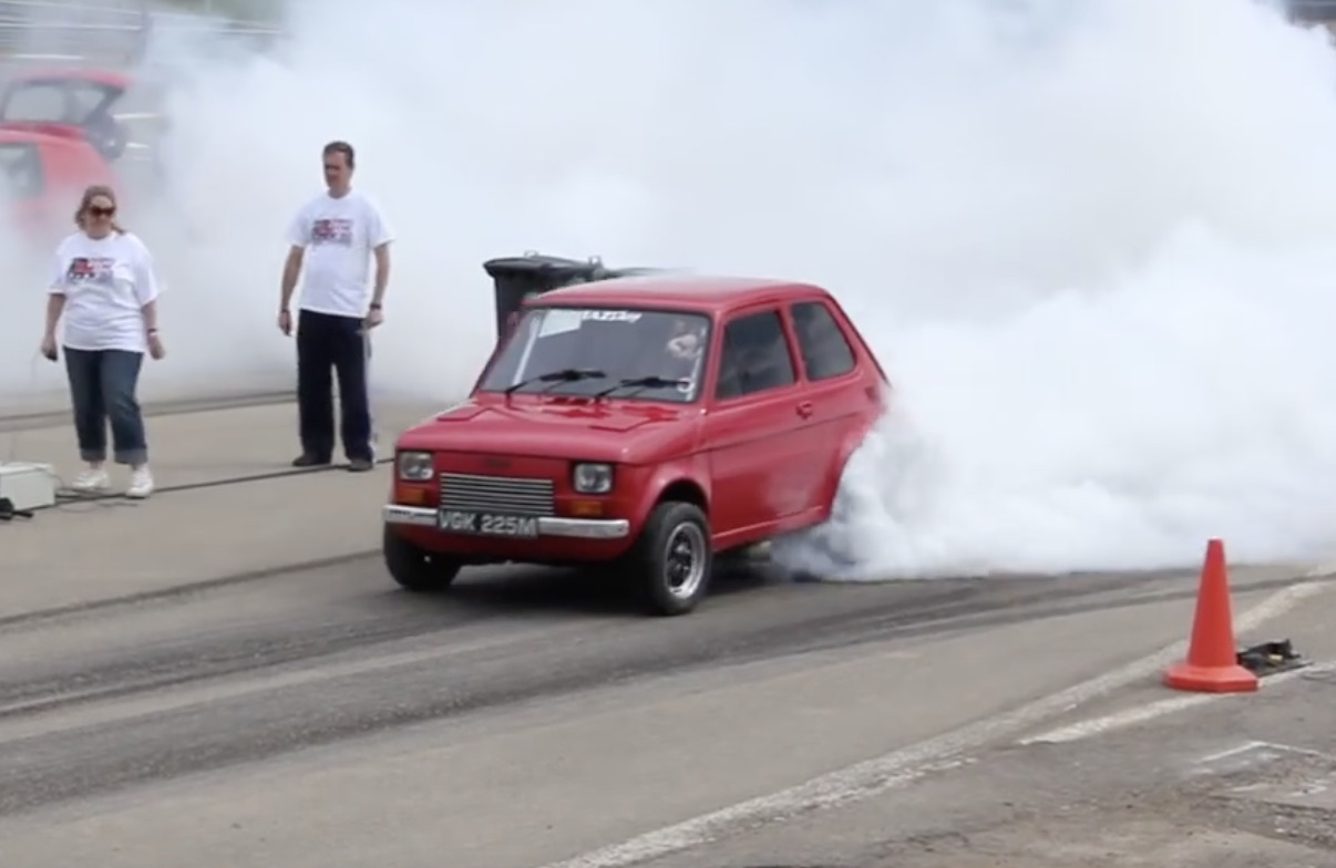 Angry Toddler: This Fiat 126 Is Packing A Small-Block Chevy Somewhere In That Body!