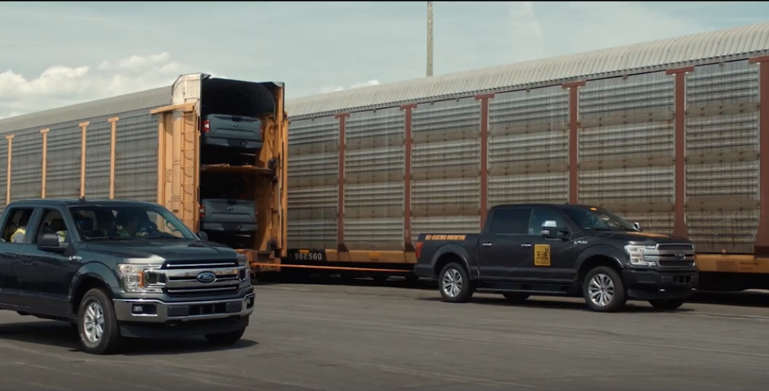 A Million Reasons To Pay Attention: Ford's Train-Towing Video Has Some Very Real Implications