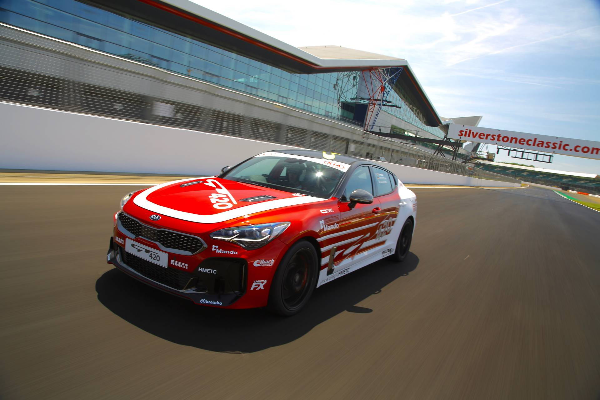 """That's The Spirit: Kia Shows Off Their """"420GT"""" – From Pre-Production Tester To Factory Track Machine"""