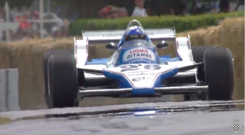 CRANK IT UP: This Is The Epic Sound Of Formula One In The Late 1970s – Cosworth V8 Screaming, Ligier JS11 Racer Working!