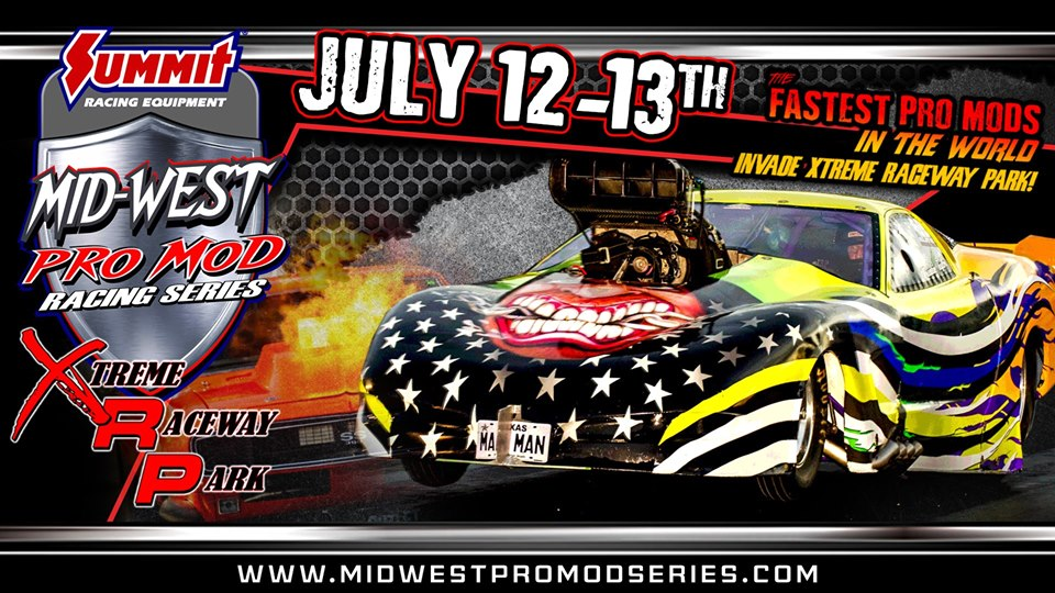 The Mid-West Pro Mod Series At XRP In Texas Is Going Down! WATCH LIVE SATURDAY EVENING!