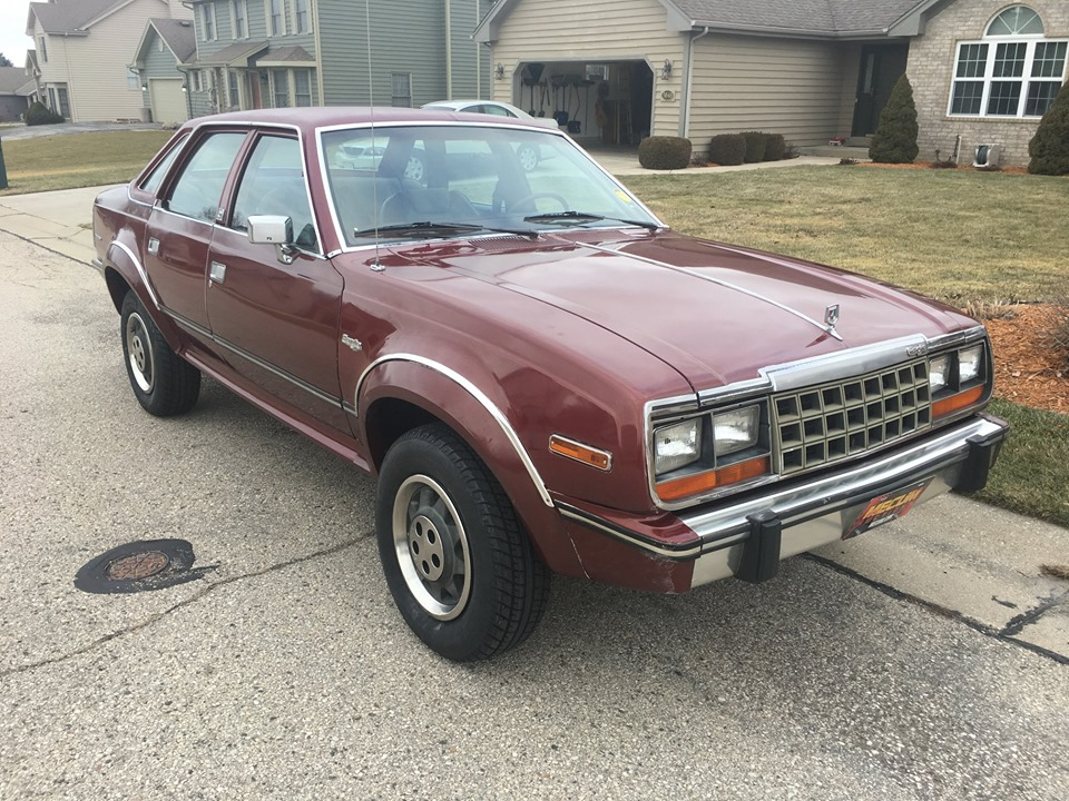 Rough Start: Think About Winter When Looking At This 1984 AMC Eagle Sedan