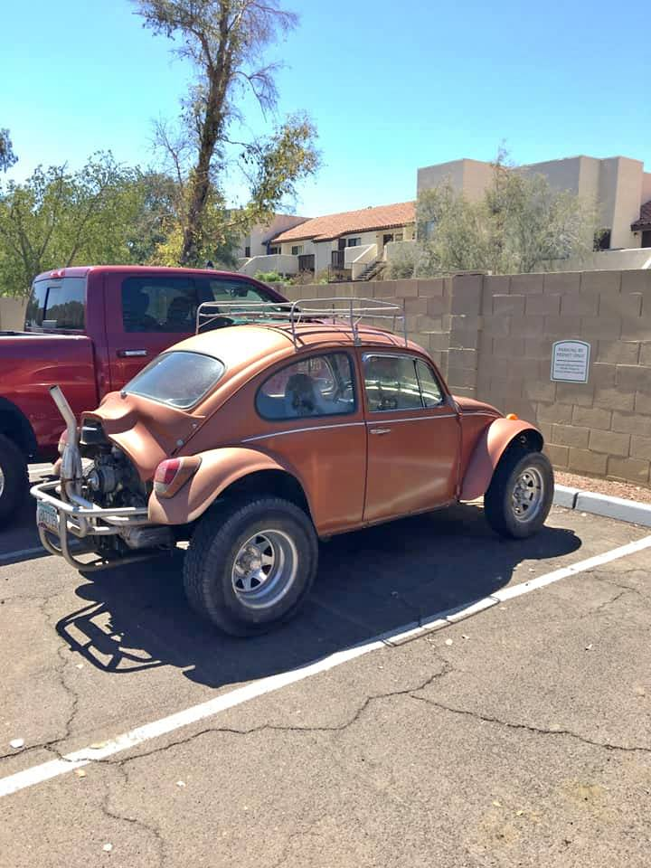 Rough Start: 1969 Baja Bug, Complete With That Stinger Exhaust Pipe!