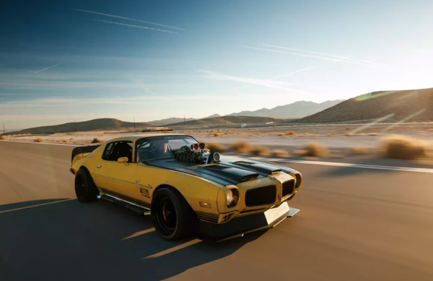 Supercharged All-Wheel Drive 1971 Trans Am? Yes, It's That Bad Ass!