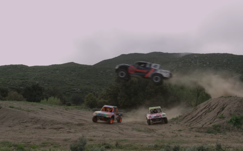 Jeremy McGrath Shreds Thing Valley Ranch With His Daughters In Their Lucas Oil Off-Road Trucks