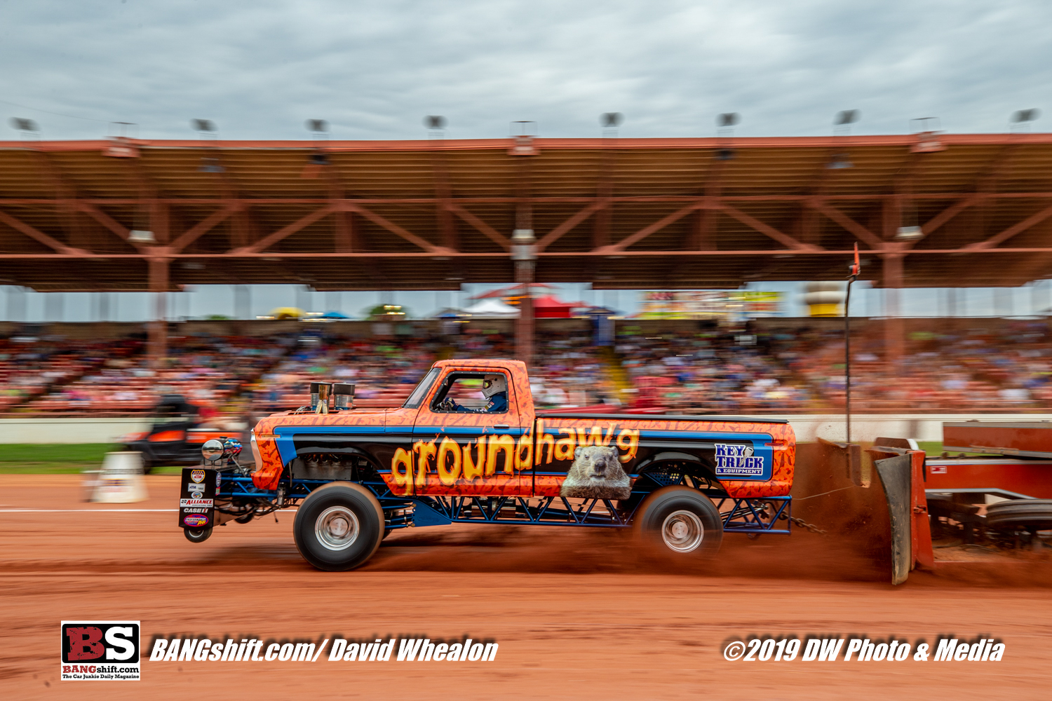 2019 Capital City 300 Pull Photo Coverage: Killer Photos Of Trucks and Tractors Getting Down With The Sled!