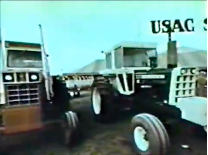 Classic Tractor Video: In 1973 White Hired USAC To Run A Showdown Between Tractor Brands – This Is Awesome
