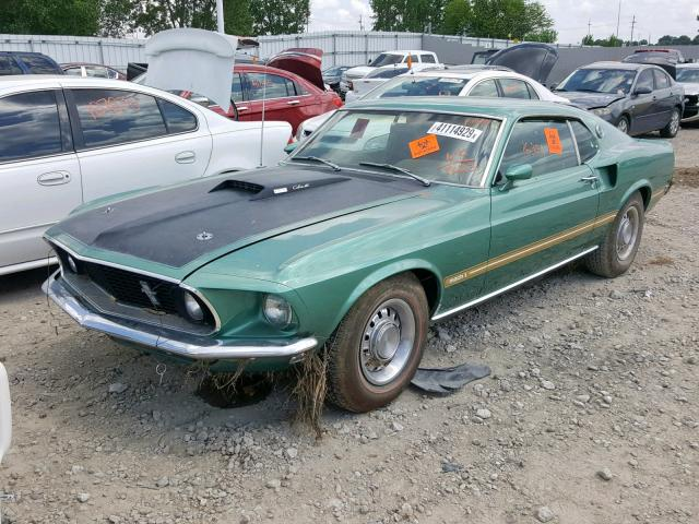 Copart Cadavers: This 1969 Ford Mustang Mach 1 Was No Match For Iowa Floodwaters